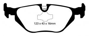 Abbildung EBC Bremsbelag DP1079