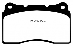 Abbildung EBC Bremsbelag DP1210