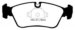 Abbildung EBC Bremsbelag DP1211