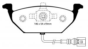 Abbildung EBC Bremsbelag DP1517